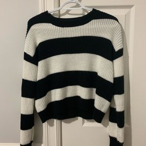 Back and White stripped sweater